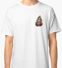 Sailor Jerry Pirate Ship Classic T-Shirt