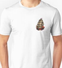 Sailor Jerry Pirate Ship T-Shirt