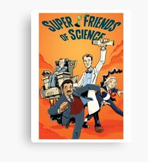 Super Friends of Science Canvas Print