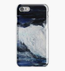 Ocean Waves Seascape Acrylic Painting On Paper iPhone Case/Skin