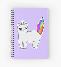 Cuaderno de espiral Rebel the Unicorn Cat - De pie