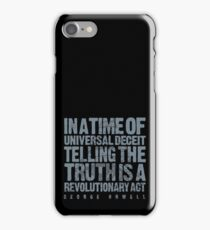 ORWELLIAN TRUTH iPhone Case/Skin