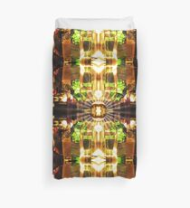 Stained Glass: Mirror of Vanity Absorption Duvet Cover