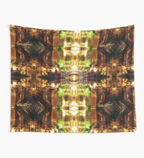 Stained Glass: Mirror of Vanity Absorption Wall Tapestry