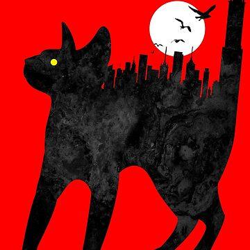 Big City Cat by JoeConde