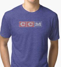 CCM logo Tri-blend T-Shirt