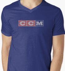 CCM logo Mens V-Neck T-Shirt