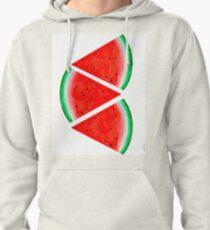 Watermelon Slice Pullover Hoodie