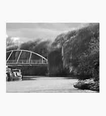 Cambridge River Bridge Phone Case Photographic Print