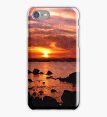 sun goes down iPhone Case/Skin