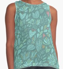 Cacti and Succulents Contrast Tank