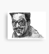 The Comedian Canvas Print