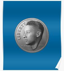 Dimes Look Different in Philly - Ben Simmons (Dime Only Variant) Poster