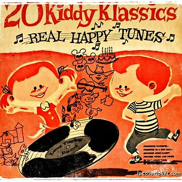Vintage Cartoon Record by RecordCovers