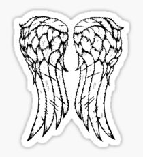 Dixon Wings Sticker