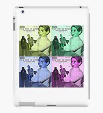 Vintage Pattern Retro iPad Case/Skin