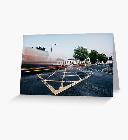 Traces Greeting Card