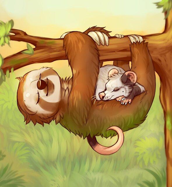 Lazy Tree Friends by Chakisuu