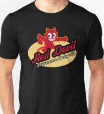 Red Devil Hot Rod logo T-Shirt