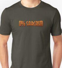 0% Sarcasm T-Shirt