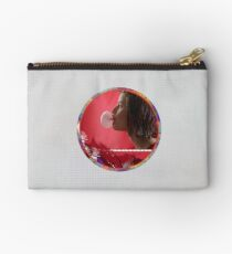 Bubble - Red Zipper Pouch