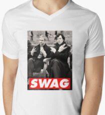 SWAGLOCK Men's V-Neck T-Shirt