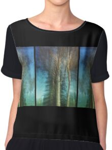 Ghost Gums in Motion Women's Chiffon Top