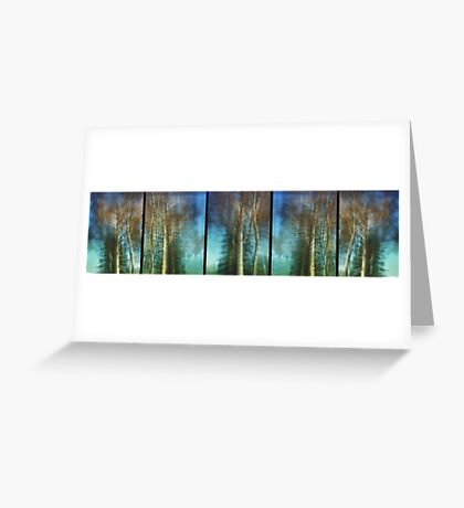 Ghost Gums in Motion Greeting Card