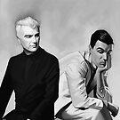 David Byrne by Brad Collins