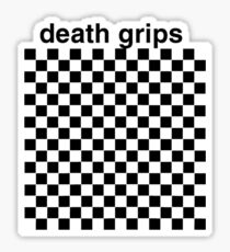 Pegatina Death Grips grid