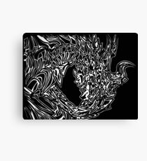 Alduin Dragon - The Elder Scrolls Skyrim Canvas Print