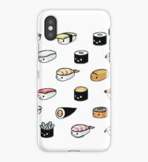 Kawaii sushi iPhone Case