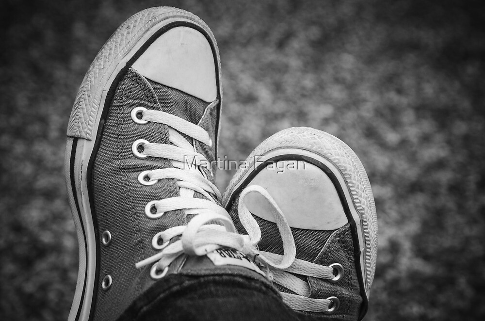 My Chucks  by Martina Fagan