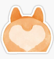 Corgi Butt Love Sticker