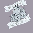 My Cat Eyes Are NOT For You by Ellen Fox