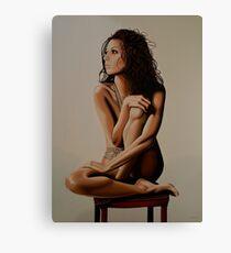 Eva Longoria Painting Canvas Print