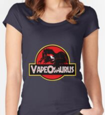 vapeosaurus Women's Fitted Scoop T-Shirt