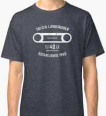 Toyota 40 Series Landcruiser FJ40 LX Round Bezel Est. 1960 Classic T-Shirt