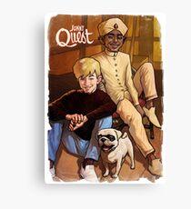 Jonny Quest And Hadji Canvas Print
