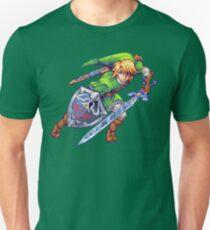 Legend of Zelda - Link Pixel Art Unisex T-Shirt