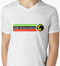 Air Wakanda- Logo Men's V-Neck T-Shirt