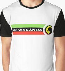Air Wakanda- Logo Graphic T-Shirt