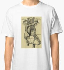 Vintage Anatomical Heart Classic T-Shirt