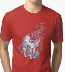 Spirit Animal - Wolf Tri-blend T-Shirt