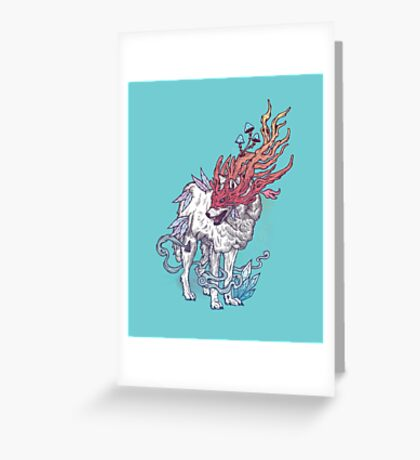 Spirit Animal - Wolf Greeting Card