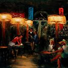 Dark Interior by Monica Vanzant