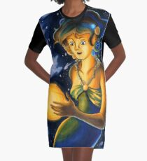 The Planets: Mercury Graphic T-Shirt Dress