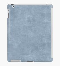 Dusty Blue Oil Pastel Color Accent iPad Case/Skin