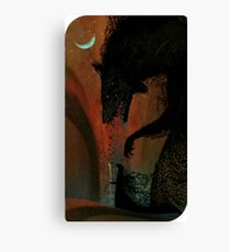 Dread Wolf/Solas Tarot Card Dragon Age Inquisition  Canvas Print