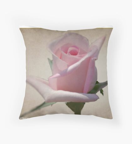 ALL IN PINK Throw Pillow